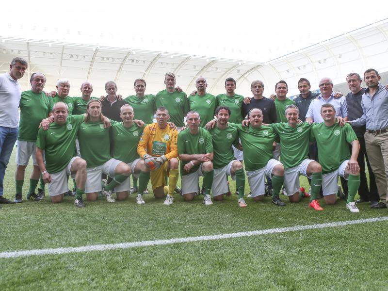 Ikonikus focistákkal találkozhatsz Solton – A Fradi öregfiúk csapata  sztárjait várják egy közös mérkőzésre 041db93b14